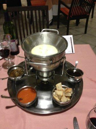 Grand Sunset Princess All Suites Resort : la fondue! super bon