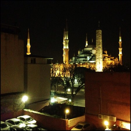 Hotel Sultan House: View from apartments