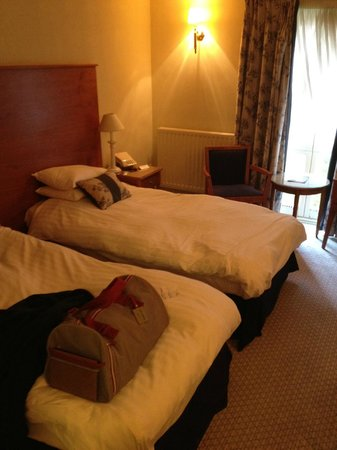 Rossett Hall Hotel: 2 Single Beds