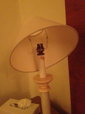 Rossett Hall Hotel: Missing Bulb