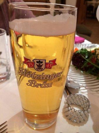 Hotel Walchseer Hof : Local or almost local beer, a few km from Walchsee, Floetzinger Braeu