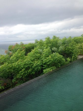 Banyan Tree Ungasan, Bali : View from Bed room