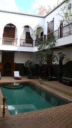 Riad Kasbah : patio