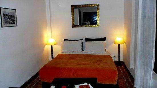 Riad Kasbah : dormitorio