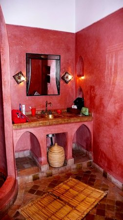 Riad Kasbah : lavabo