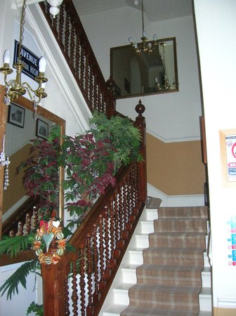 Albyn Townhouse: STAIRCASE