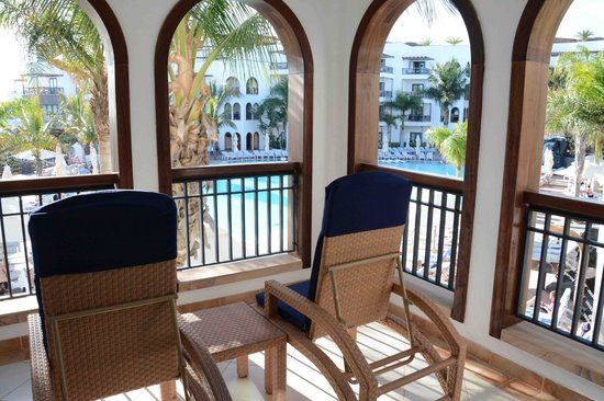 Princesa Yaiza Suite Hotel Resort: Balcony view