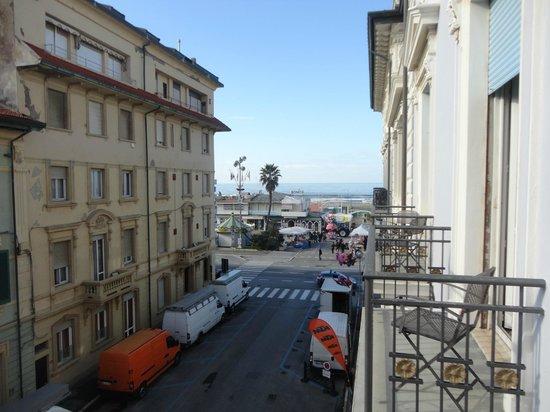 Palace Hotel: vue de la chambre