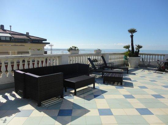 Palace Hotel: la terrasse