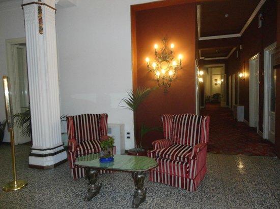 Palace Hotel: le hall