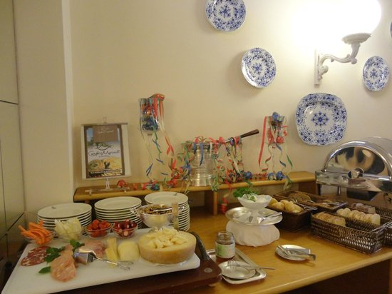 Palace Hotel: le buffet