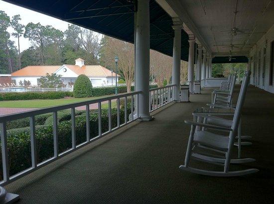 The Carolina Hotel - Pinehurst Resort: Back porch