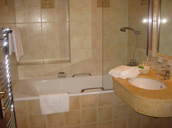 Hotel Carlton: ванная в номере