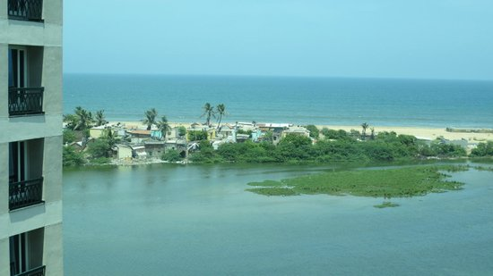 The Leela Palace Chennai: View from room at high tide