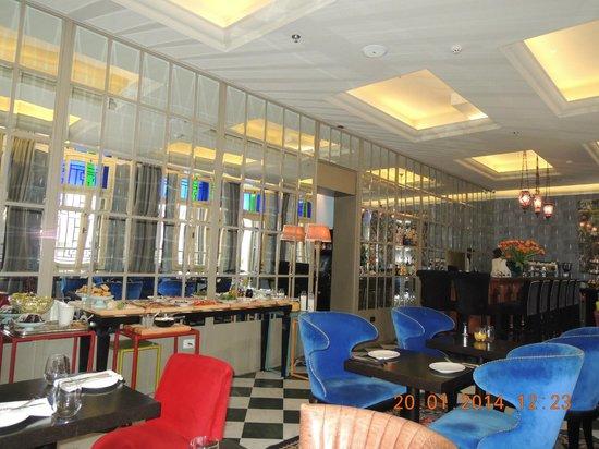 Alma Hotel & Lounge: ресторан отеля