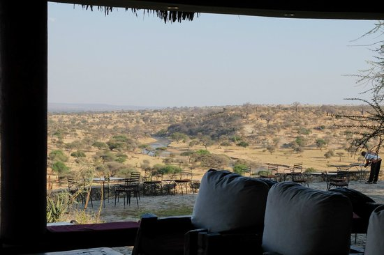 Tarangire Safari Lodge: views