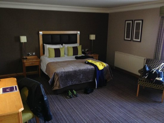 The Oxford Belfry: Spacious and nicely decorated rooms