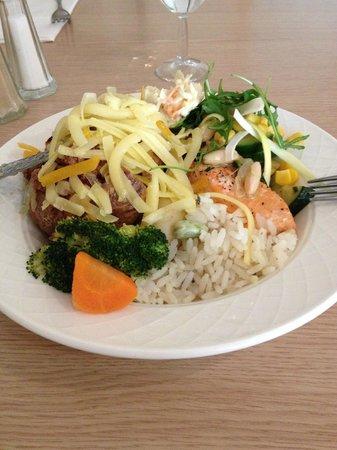 The Oxford Belfry: My buffet plate