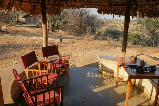 Tarangire Safari Lodge: our patio