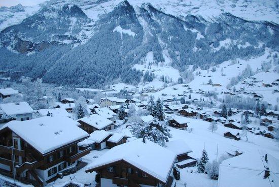 Belvedere Swiss Quality Hotel: Вид из окна номера