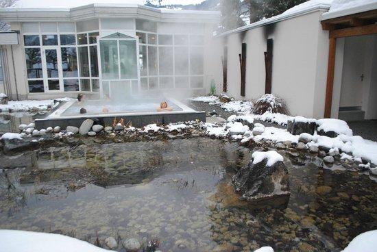 Belvedere Swiss Quality Hotel: Джакузи и пруд