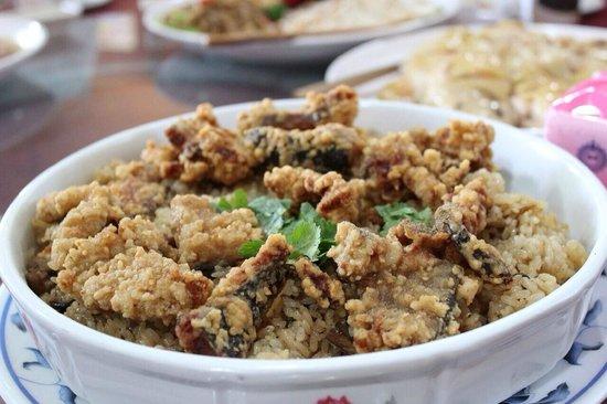 Shi Qiang Zai Nei Resort Farm : 鰻魚油飯