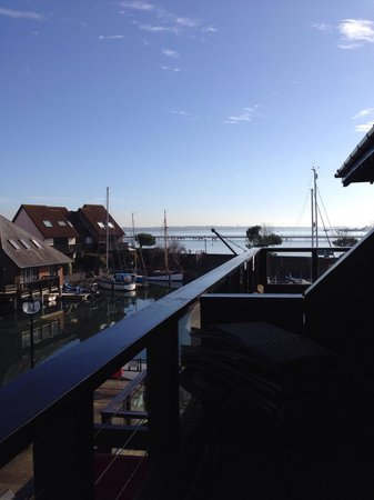 Boathouse Hotel: Our view