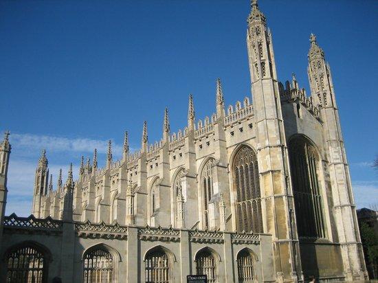 Cambridge Tour Guides: King's College Chapel