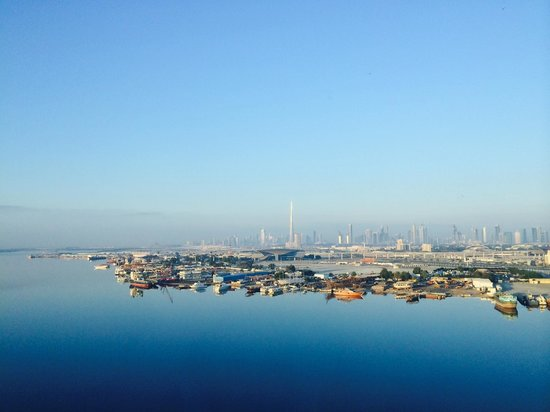 InterContinental Dubai Festival City : View from our room