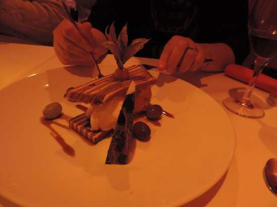 MAX Amsterdam : desert to share between two with taster option