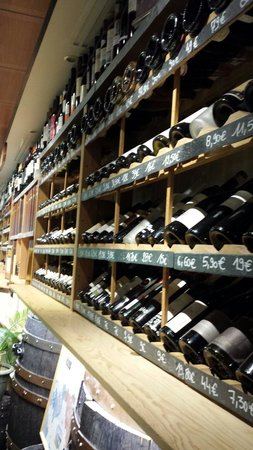 Le 7 de Table : La cave à vins