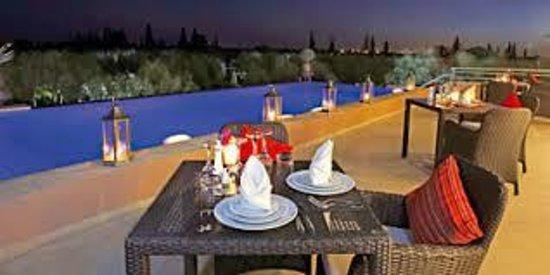 la terrasse picture of le clos des oliviers marrakech tripadvisor. Black Bedroom Furniture Sets. Home Design Ideas