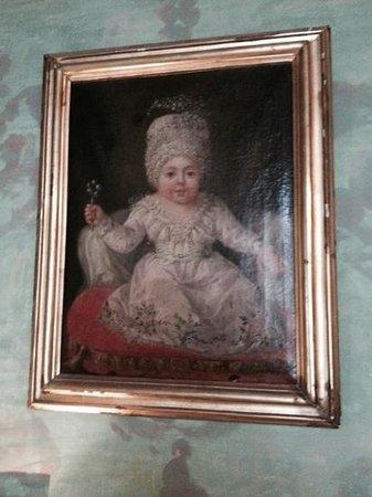 Casa Rocca Piccola : ritratto di bimba del 1700