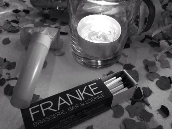 Franke Brasserie, Bar & Lounge: Happy new year :-)