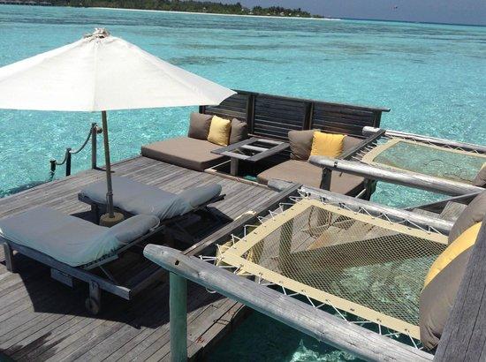 Gili Lankanfushi Maldives : TERASSE