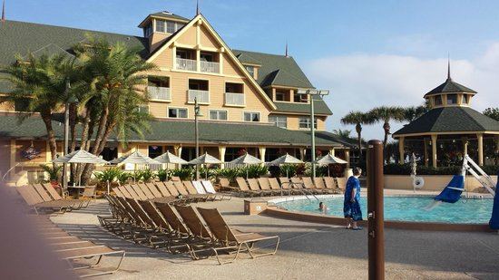 Disney's Vero Beach Resort : View from the pool area