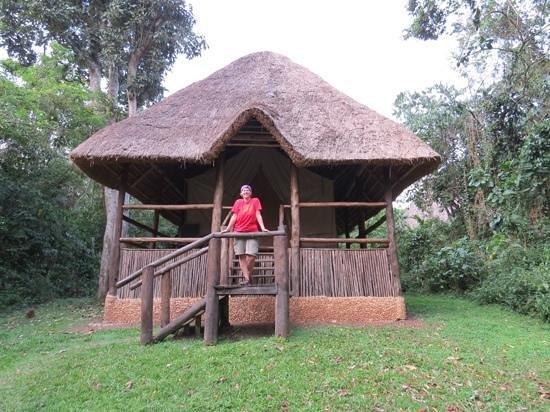 Primate Lodge Kibale: the tent lodgings at Kibale Primate Lodge