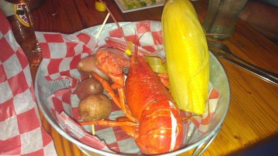 NSB Seashack : Thursday special, Lobster dinner.