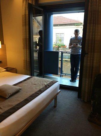 iQ Hotel Roma: Balcony