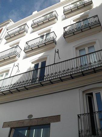 Cosy Rooms Bolsería: Vista esterna dell' hotel