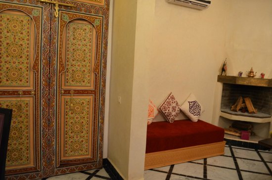 Riad Al Ralia: Aufenthaltsbereich
