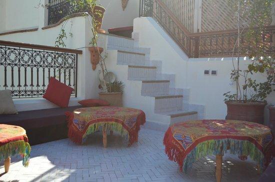 Riad Al Ralia : Dachterrasse