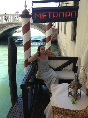 Metropole Hotel: Gondoler pick up
