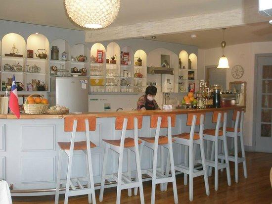 Cafe del Puente: la barra
