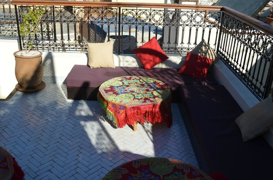 Riad Al Ralia: Dachterrasse