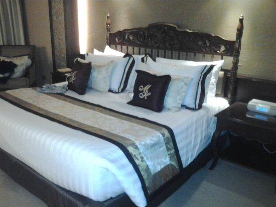 The Manila Hotel: notre chambre