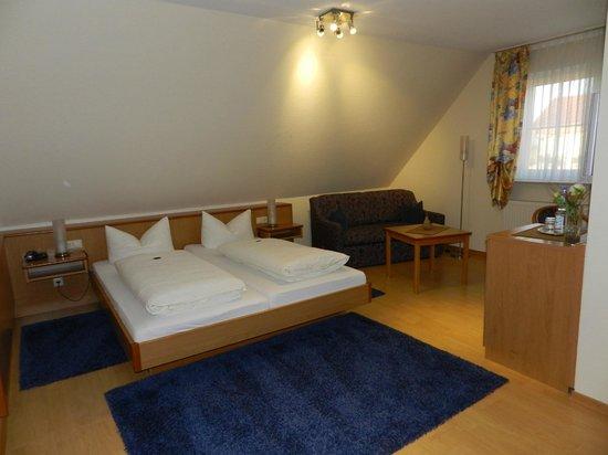 Apartments & Hotel Kurpfalzhof: Komfortable Betten