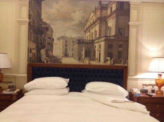 Hotel Principe Di Savoia: Beautifully decorated