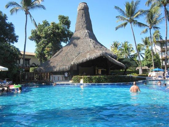 Hacienda Buenaventura Hotel & Mexican Charm All Inclusive: Piscine et Bar Snack Bar