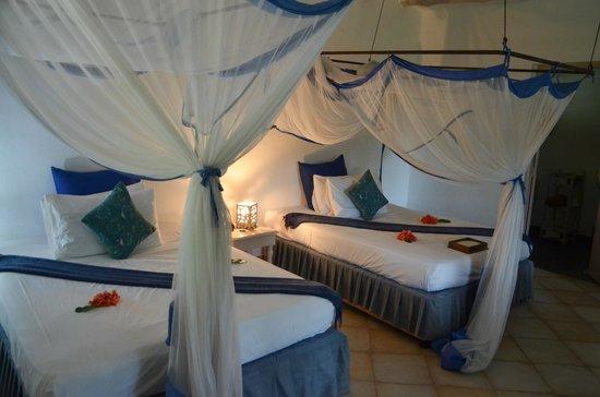Matemwe Beach Village: our room